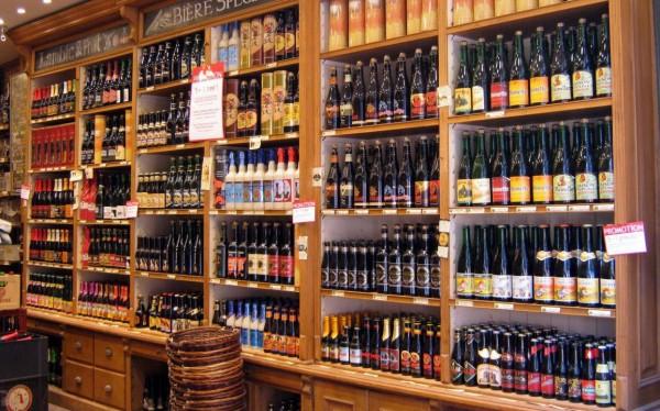 Belgian Beer Wall