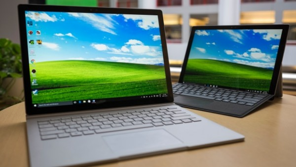 Microsoft Surface Book and Surface 4 Picture